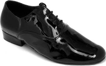 argentine tango shoe-Model VF  919101-Black Patent Leather